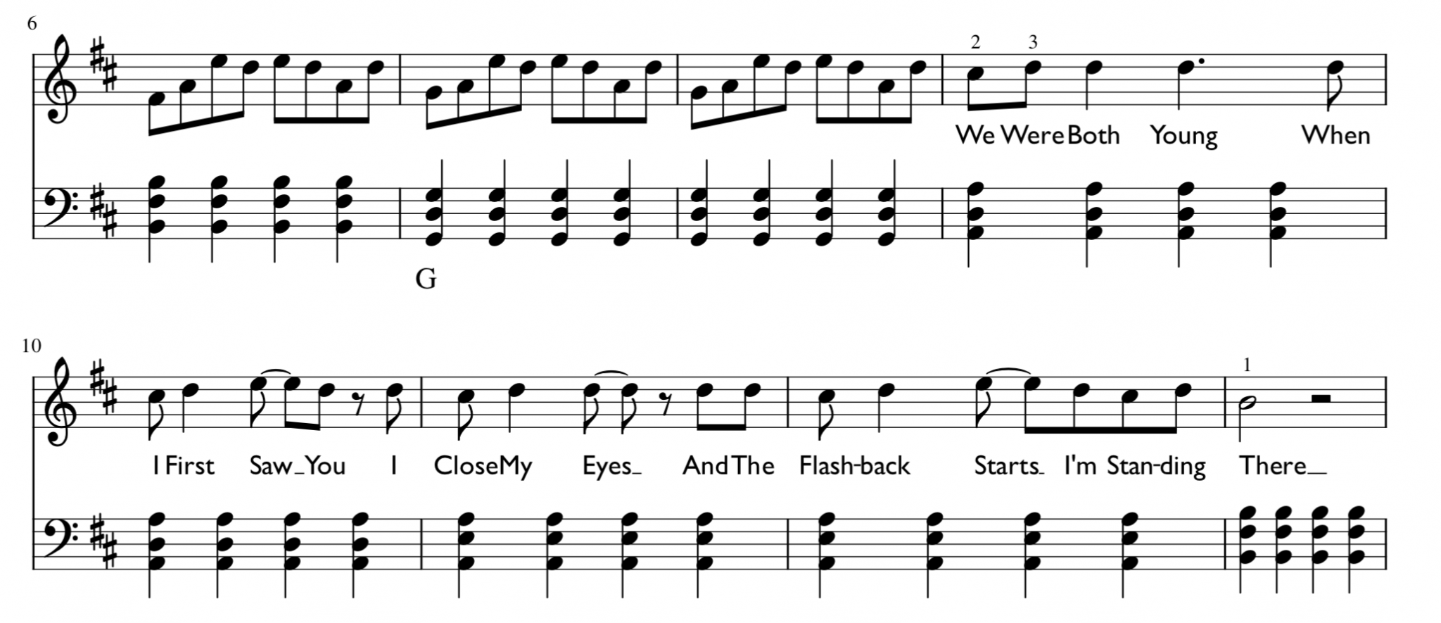 Love Story Sheet Music