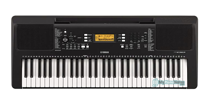 electric keyboard and piano by yamaha