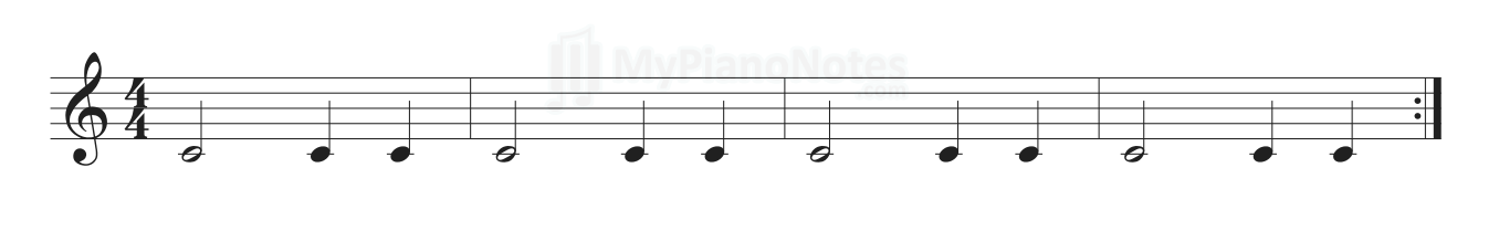 piano exercise 3