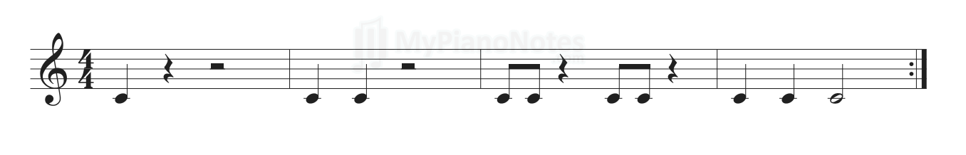 metronome exercise 6